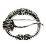 2326 - Silverbrosch med Keltiskt motiv