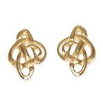 238 - Guldörhänge 18k Keltiskt motiv.