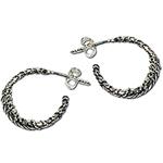 3054 - Silverörhängen Vikingacreoler