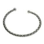 5004 - Silverarmband Stelt Vikingarmband